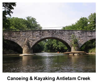 Canoeing Antietam Creek