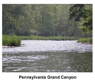 Canoeing the Pennsylvania Grand Canyon
