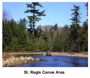 Canoe Camping the ST. Regis Canoe Area