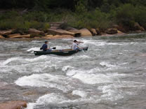 Navigating Moshannon Falls