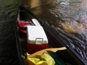 Canoe Full of Water
